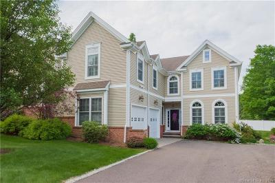 West Hartford Condo/Townhouse For Sale: 7 Creekside Lane #7