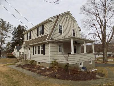 New Milford Single Family Home For Sale: 50 Park Lane Road
