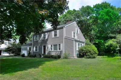 Darien Single Family Home For Sale: 20 Salt Box Lane