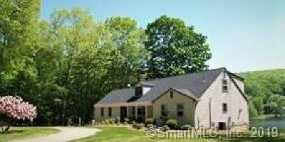 Ridgefield Single Family Home For Sale: 180 Barlow Mountain Road