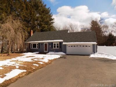 Simsbury Single Family Home For Sale: 278 Hopmeadow Street