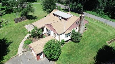 Plymouth Single Family Home For Sale: 96 East Washington Road