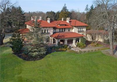 Greenwich CT Single Family Home For Sale: $7,495,000