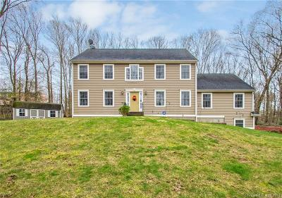 Coventry Single Family Home For Sale: 1382 Cedar Swamp Road