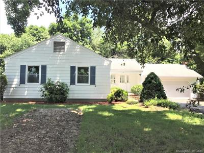 West Hartford Single Family Home For Sale: 10 Brookmoor Road