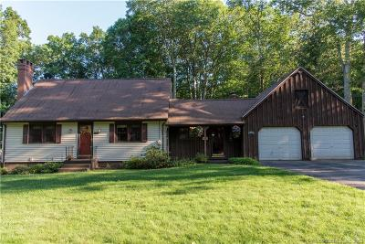 Tolland County, Windham County Single Family Home For Sale: 100 Sherry Circle