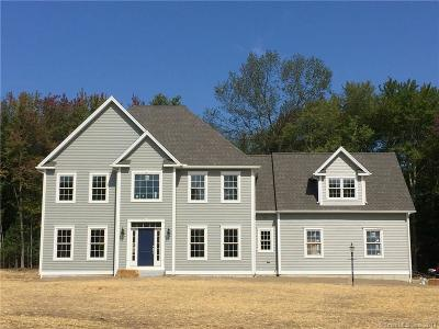 Tolland County, Windham County Single Family Home For Sale: 89 Potter School Road