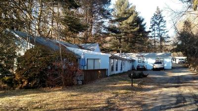 Tolland County, Windham County Single Family Home For Sale: 1270 Boston Turnpike