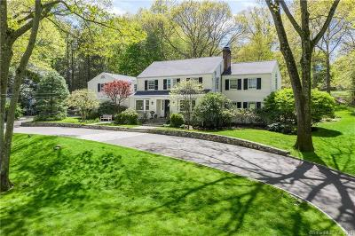 Darien Single Family Home For Sale: 55 Maywood Road