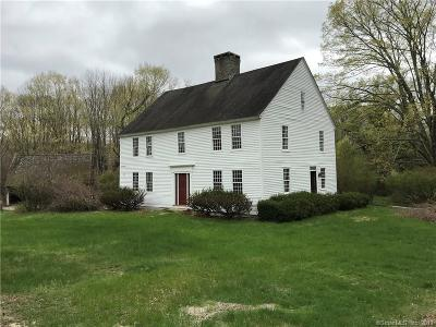 Tolland County, Windham County Single Family Home For Sale: 84 Bear Swamp Road