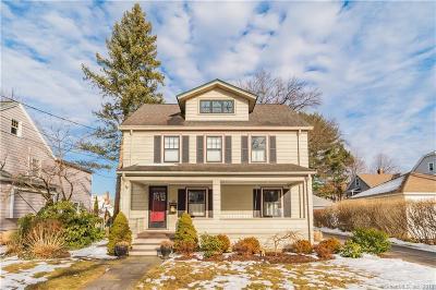 West Hartford Single Family Home For Sale: 16 Argyle Avenue