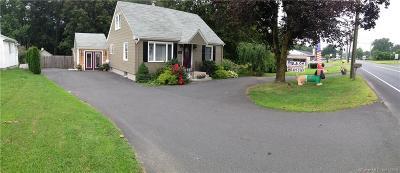 Southington Single Family Home For Sale: 1255 Meriden Waterbury Turnpike