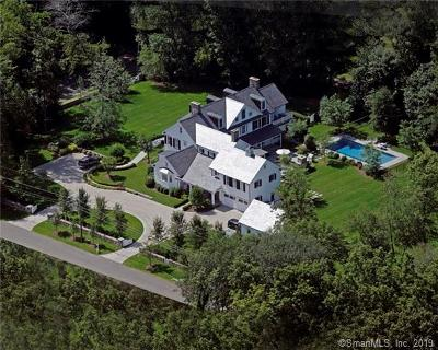 Darien Single Family Home For Sale: 320 Brookside Road