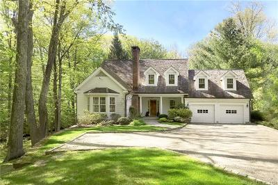 Wilton Single Family Home For Sale: 170 Ridgefield Road
