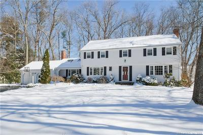 Simsbury Single Family Home For Sale: 18 Winterset Lane