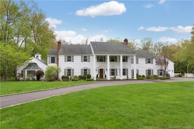 Darien Single Family Home For Sale: 100 Stephen Mather Road