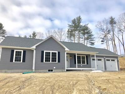 Killingly Single Family Home For Sale: Lot 2 Cardinal Drive