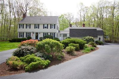 Wilton Single Family Home For Sale: 43 Bald Hill Road