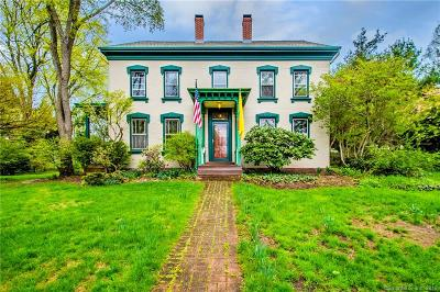 Wethersfield Single Family Home For Sale: 199 Griswold Road