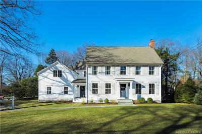 Darien Single Family Home For Sale: 43 Hillside Avenue