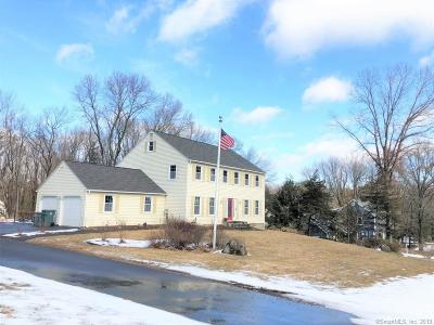 Cheshire Single Family Home For Sale: 570 Redstone Drive