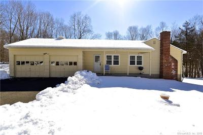 Brookfield Single Family Home For Sale: 40 Hop Brook Road