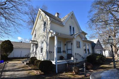 Stonington Single Family Home For Sale: 13 Greenmanville Avenue