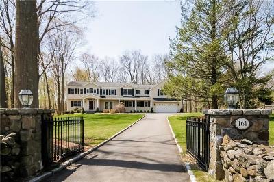 Wilton Single Family Home For Sale: 161 Hurlbutt Street