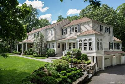 New Canaan Single Family Home For Sale: 181 West Hills Road