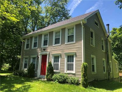 Ridgefield Single Family Home For Sale: 361 Danbury Road