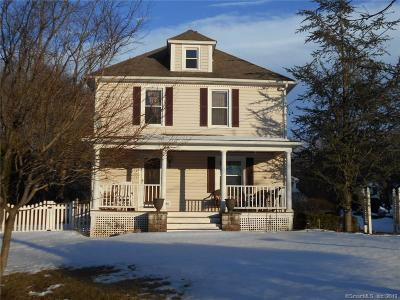 Meriden Single Family Home For Sale: 223 North Wall Street