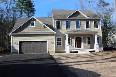 Simsbury Single Family Home For Sale: 44 Sand Hill Road