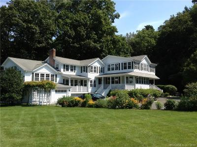 Darien Single Family Home For Sale: 71 Goodwives River Road