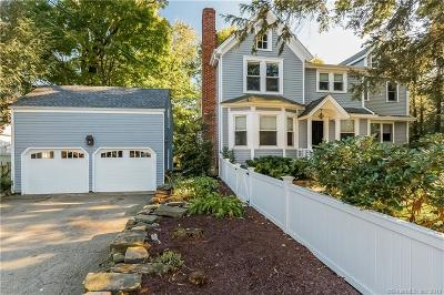 Darien Single Family Home For Sale: 105 Old Kings Highway South