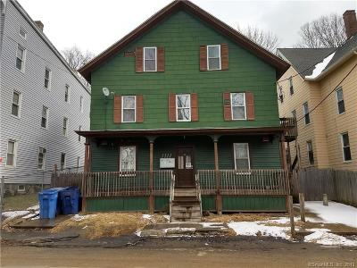 Waterbury Multi Family Home For Sale: 233 River Street