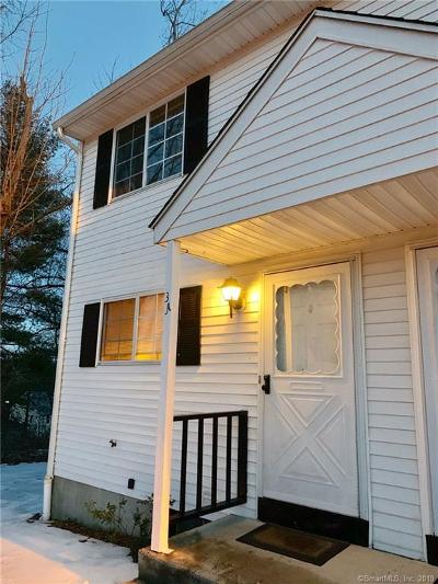 Naugatuck Condo/Townhouse For Sale: 38 Ann Street #3A