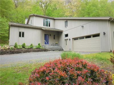 New Milford Single Family Home For Sale: 43 Little Bear Hill Road