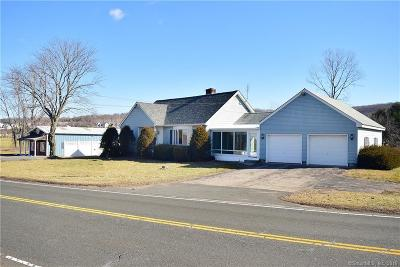 Tolland County, Windham County Single Family Home For Sale: 117 West Road