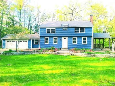 Simsbury Single Family Home For Sale: 8 Roswell Road