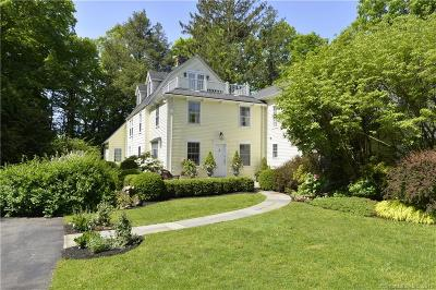 Stamford Single Family Home For Sale: 708 Hunting Ridge Road