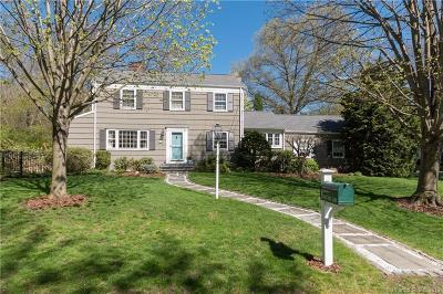Darien Single Family Home For Sale: 24 Salt Box Lane