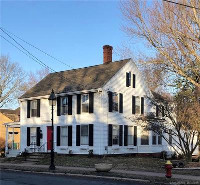 Wethersfield Single Family Home For Sale: 147 Main Street