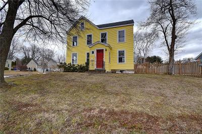 Wethersfield Single Family Home For Sale: 422 Middletown Avenue