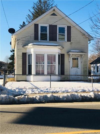 Windham County Single Family Home For Sale: 33 Railroad Avenue