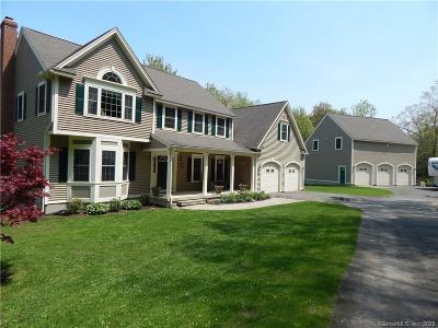 Barkhamsted Single Family Home For Sale: 44 Ratlum Mountain Road