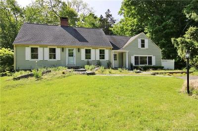 Westport Single Family Home For Sale: 100 Cross Highway