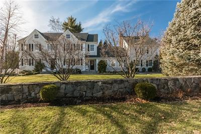 Darien Single Family Home For Sale: 4 Beach Drive