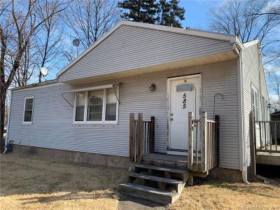 Hamden Single Family Home For Sale: 585 Woodin Street