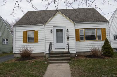 Stratford Single Family Home For Sale: 341 Swanson Avenue