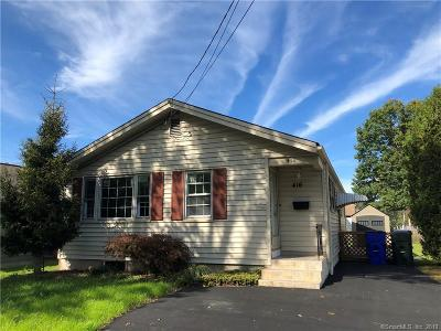 Wethersfield Single Family Home For Sale: 416 Nott Street